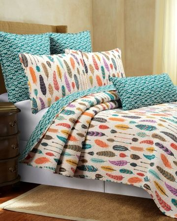 Feather Print Bedding Sets