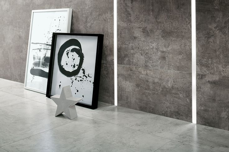 SPA in scandi chic - don't you love it? It's Bergen collection of Ceramstic Design with concrete star decoration (Morgan & Möller)! http://ceramstic.com/pl/bergen/