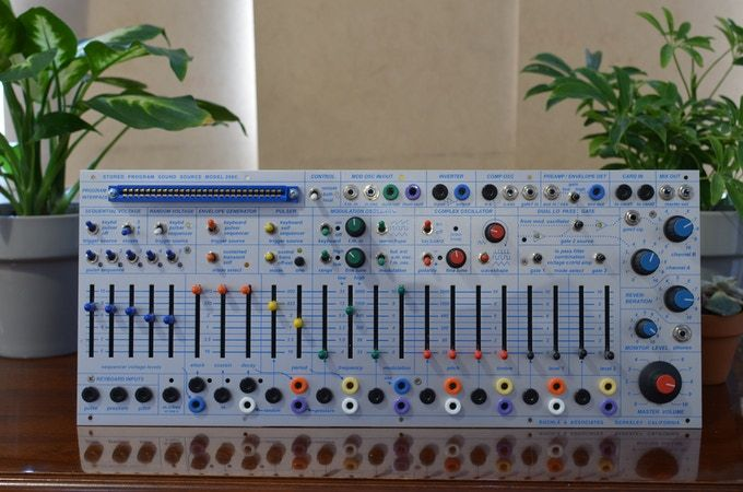 Buchla Easel Command 208c Synthesizer By Buchla Usa Kickstarter Synthesizer Easel Audio Connection