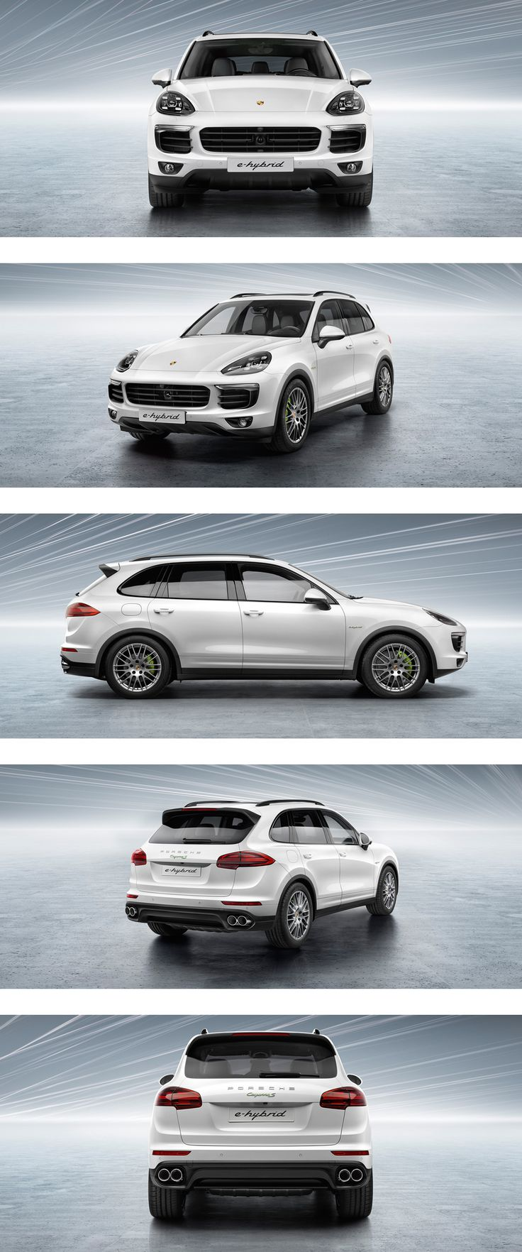 OUR SOLUTION FOR THE FUTURE &8211; SIMPLY ELECTRIFYING. THE NEW PORSCHECAYEN