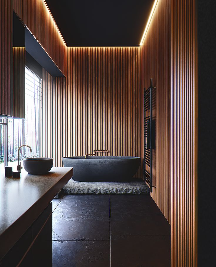 Bathroom Design by Splinter Society Architects. on Behance
