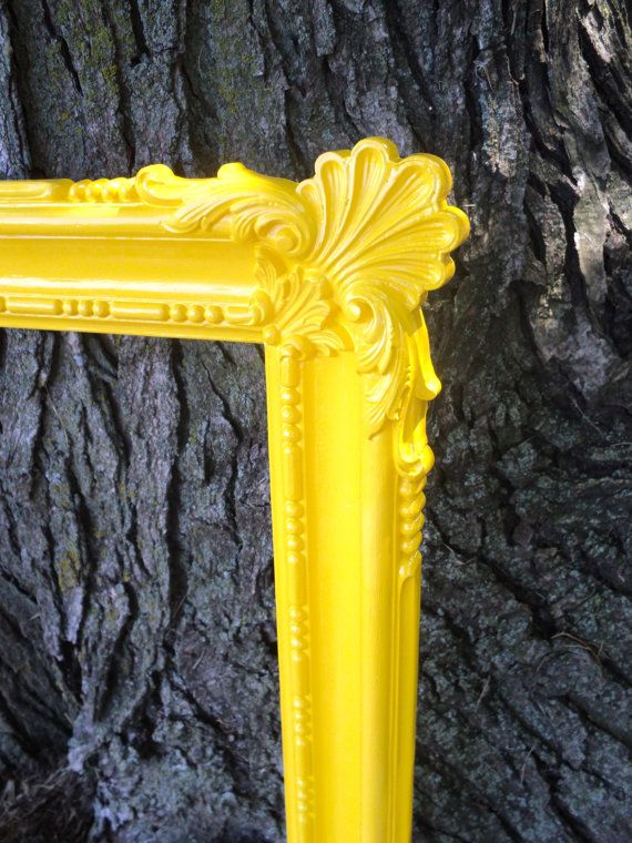 Best 25 Yellow Picture Frames Ideas On Pinterest