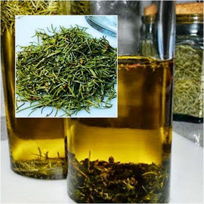 aceite aromatizado con romero