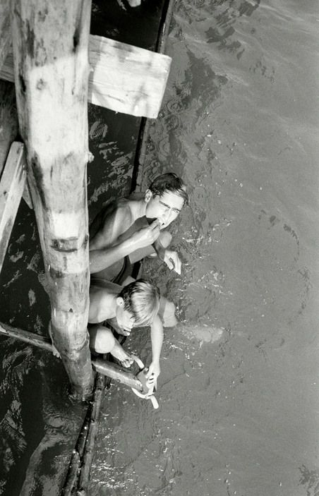 by Herbert List, Boys diving for coins, Italy, Naples, 1960