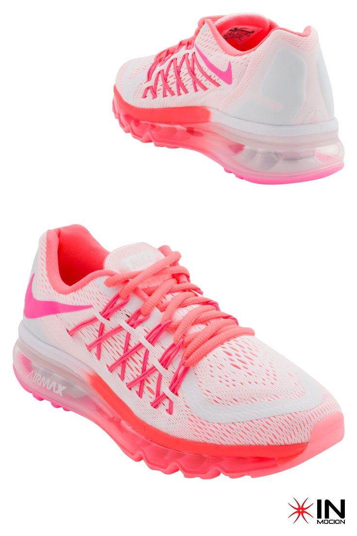 #Nike Air Max 2015 GS Tamanhos: 36.5 a 38.5  #Sneakers mais informações: http://www.inmocion.net/Nike-Air-Max-2015-GS-705458-122-pt?utm_source=pinterest&utm_medium=705458-122_Nike_p&utm_campaign=Nike