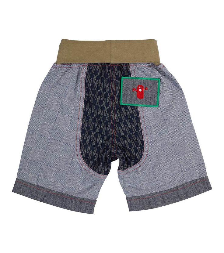 Reflections Short - Big, Oishi-m Clothing for kids, Summer  2017, www.oishi-m.com