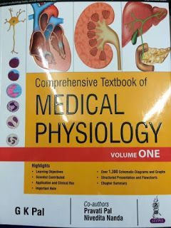 Medical Books PDP Free Download: Textbook of Medical physiology by gk pal free down...