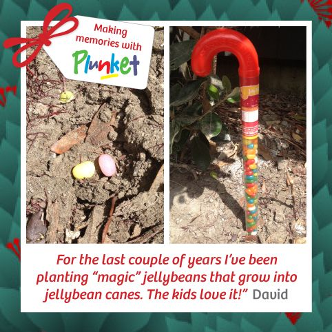 #21 Making new memories and traditions help to create a magical Christmas for kids.  #plunketadventcalenda
