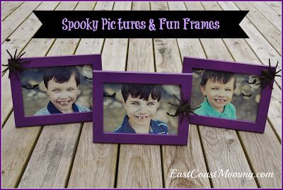 Spooky Pictures and Fun Frames for Halloween... such a cute project!