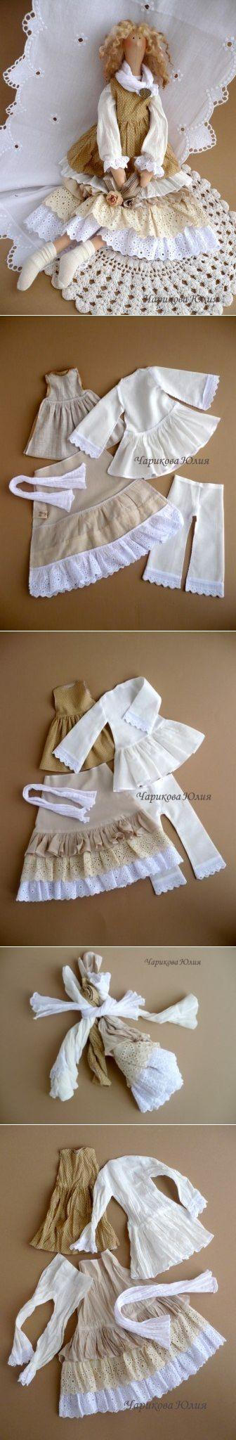 Мини МК от Юлии Чариковой. Как сделать одежду в стиле Бохо.  Описание процесса под фото (слова автора))).