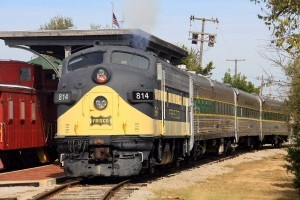 OKC Railway Museum - rides 1st & 3rd Saturday; $12 - adults; $5 for kids; coupon on travelok.com