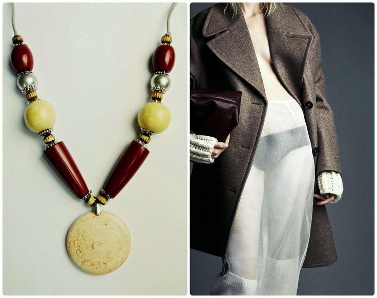 HAVA Collection - Bordo Necklace