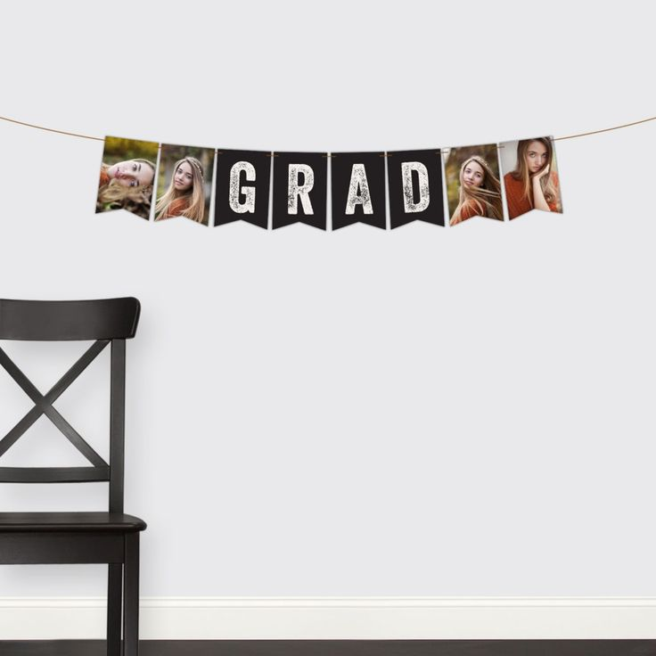 Graduation Party Decorations -- Rustic Grad Banner | Pear Tree Greetings
