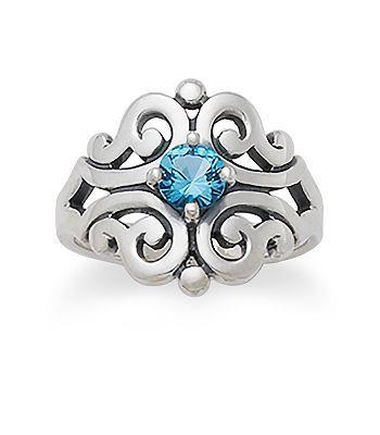 James Avery December Birthstone Ring