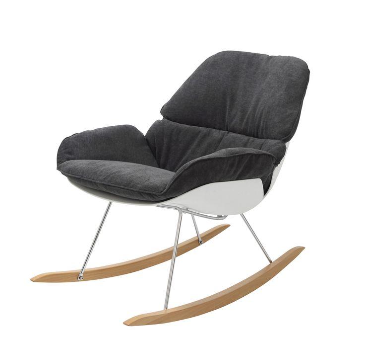 Fotel bujany Nino | DESIGNERSKI