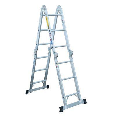 Werner 12-ft Aluminum Multi-Position Ladder