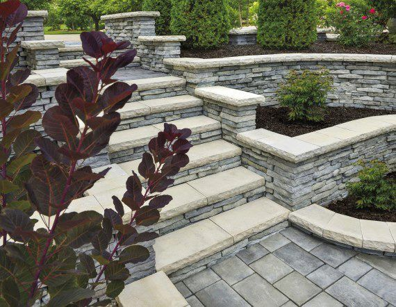 Фотографии · Outdoor Stone StepsStacked StonesPatio IdeasBackyard ...