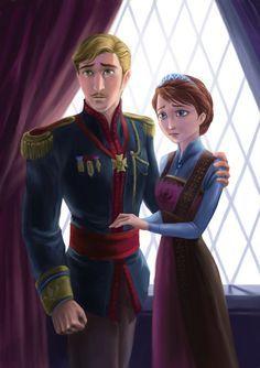 *KING AGNAR & QUEEN IDUNA ~ Frozen, 2013