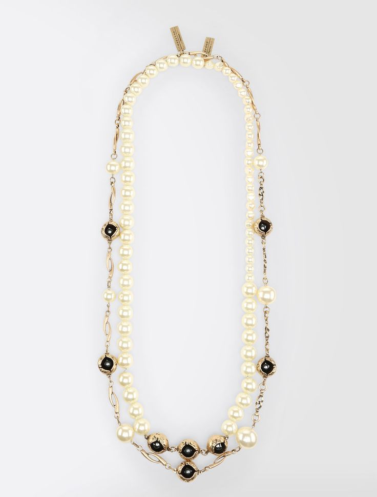 Max Mara COLIBRI natural: Necklace set.