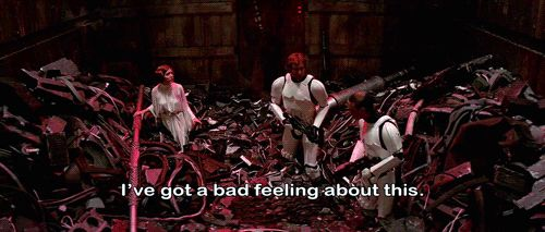 Sometimes he would get you into these totally garbage situations. | Proof Han Solo Is Actually Your Ex-Boyfriend
