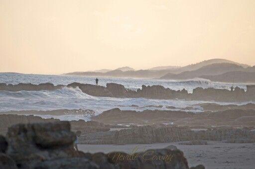Beach walk, Port Edward, South Africa