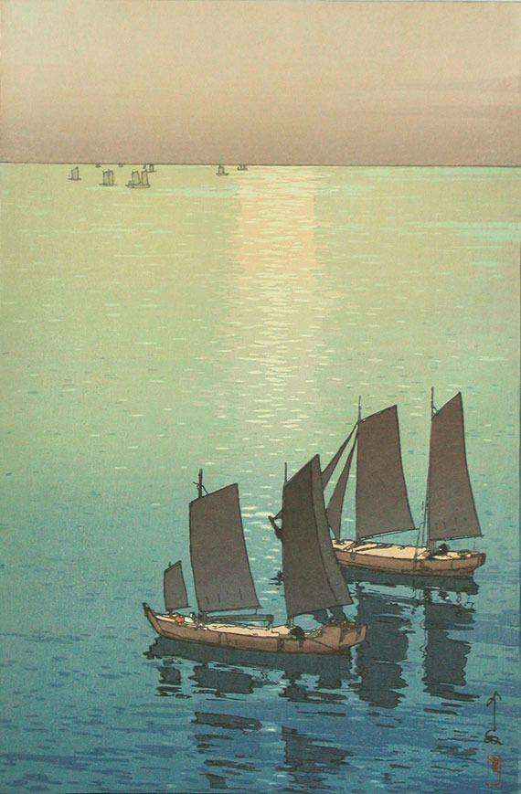 吉田博の木版画