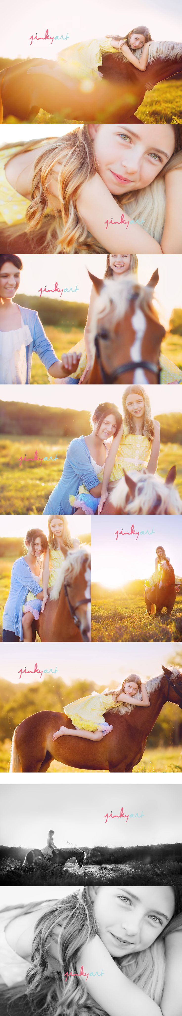 girls with their horses....love. individuals or grouped? by size? dresses & boots