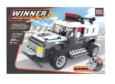Speed Racer 19244: Brictek Bric Tek R C City Police Truck Same Size As Lego New 20203 -> BUY IT NOW ONLY: $42.99 on eBay!