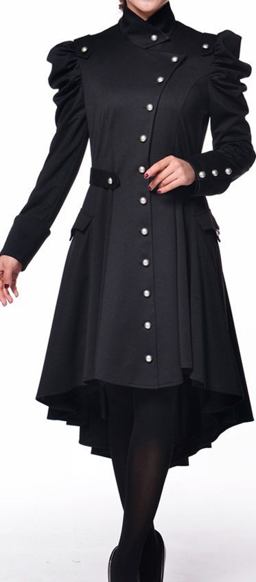 Something about this coat really doesn't seem right, but I like several of its elements.