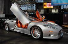 Spyker C8 Aileron Car Huge Image HD For iPad