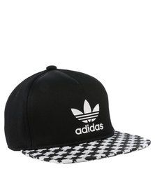 adidas Soccer Geometric Snapback Cap Black