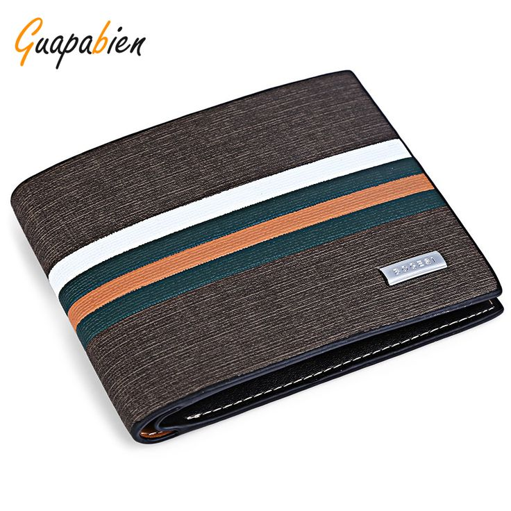 Guapabien luxury brand Brown Striped money clip men's leather clutch bag wallet male purse PU leather wallet men wallets #electronicsprojects #electronicsdiy #electronicsgadgets #electronicsdisplay #electronicscircuit #electronicsengineering #electronicsdesign #electronicsorganization #electronicsworkbench #electronicsfor men #electronicshacks #electronicaelectronics #electronicsworkshop #appleelectronics #coolelectronics