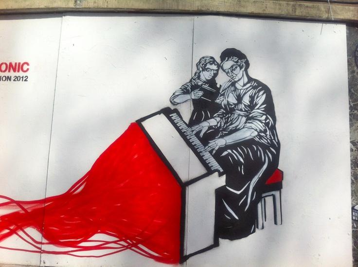 Street Art in London (Shoreditch) taken early 2012 by Rachael Chapman