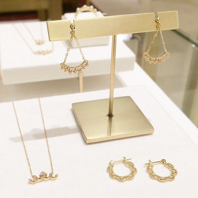 K10YG diamond jewelry #tocca #japan