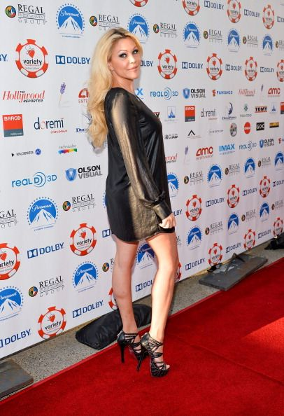 Television personality Shanna Moakler arrives at The Children's Charity Of Southern California Texas Hold 'Em Poker Tournament hosted by Variety at...