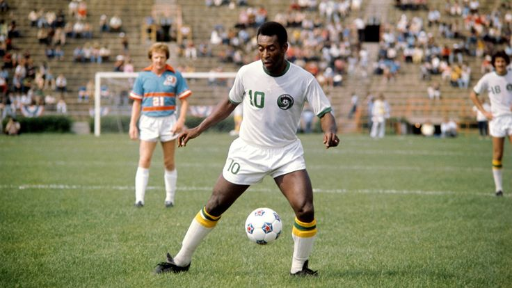 @Cosmos player Pele, an all time great #9ine