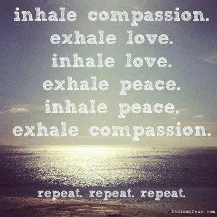 70 best woosa images on pinterest mental health mindfulness and inhale compassion exhale love see every experience and everything before y fandeluxe Images