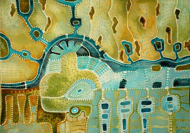 Nedělní chvilka poezie Obraz pochází z nové kolekce obrazů vytvořených kombinovanou technikou, kterou jsme si upravila sobě na míru. Od kresby oblíbenými akvarelovými pastely jsem došla ke klasickému akvarelu. Akvarelové barvy jsou zkombinovány s akvarelovým pastelem, který po nastrouhání a rozpuštění ve vodě slouží jako běžné akvarelové barvy, pouze je sytější a ...