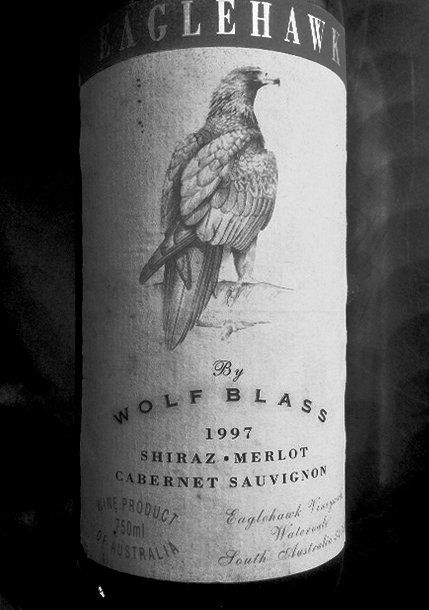 Wolf Blass Eaglehawk 1997 - Surprisingly good; rather like an aged Pinot Noir.  Eaglehawk was only ever a budget wine, so it was a revelation that it was uncommonly good !  I had a 1998 also, which was quite good but nowhere near as complex and delicious as the '97.