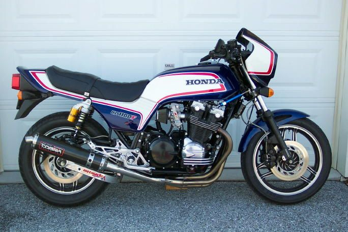 '83 Honda CB1100F - One of my all-time favorite Honda's! This CB1100F is very special: big bore kit, degreed cams, full Dyna 2000 ignition, 35mm FCR's, Metmachex swing arm, Ohlins, etc. Very nice!