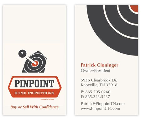 Business card inspector   business card design for Pinpoint Home  Inspections   InterNACHI134 best Business resources images on Pinterest   Business cards  . Home Design Card. Home Design Ideas