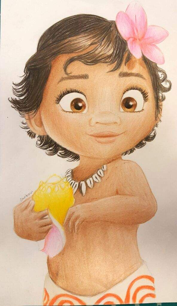 Baby Moana Drawing With Images Moana Drawing Disney
