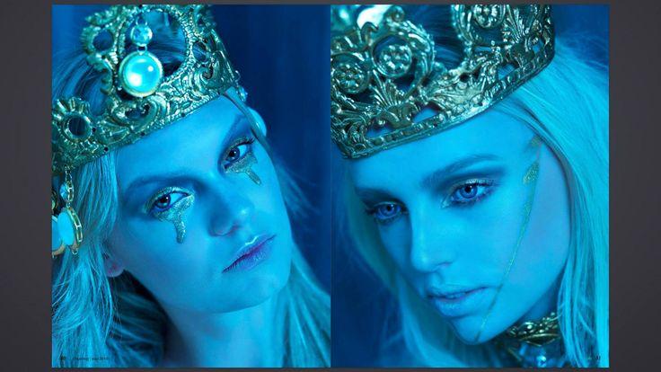 Kondylatos jewels featured @ ShuString magazine  ShuString magazine / Beauty issue  Photos: Nikos Reskos Styling : Antonia Skandalari MUA : Anita Brand models :Michelle,Danique (X-Ray)
