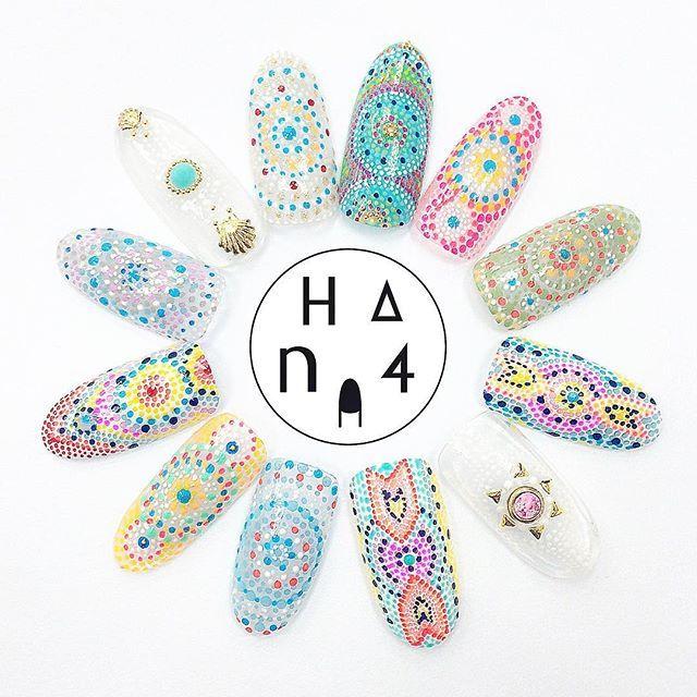 Summer nails    Dotticure ideas