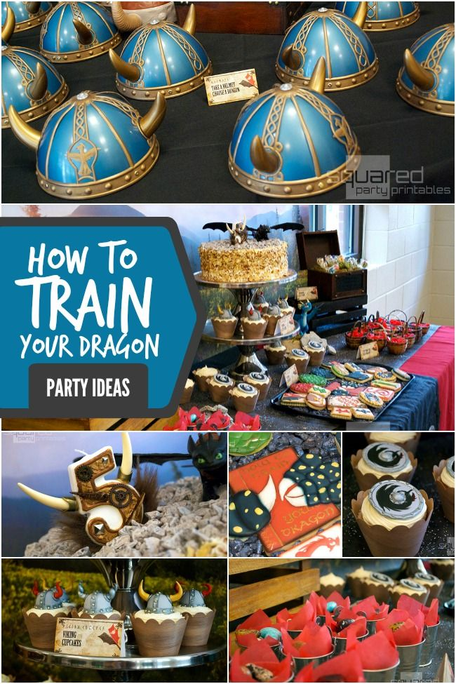How to Train Your Dragon 2 Inspired Boy's Birthday Party - Spaceships and Laser Beams
