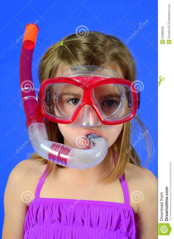 Image result for girl diving goggles