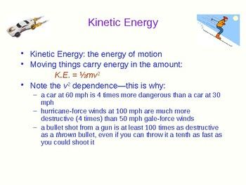 Work Energy and Power - Physics Quick Review and Presentation #physics #energy #science #education #teacher #teaching #classroom #school #college #MCAT #presentation #tutorial #lesson #powerpoint