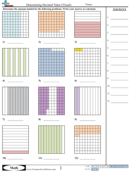 decimal worksheets education decimals worksheets teaching math worksheets. Black Bedroom Furniture Sets. Home Design Ideas