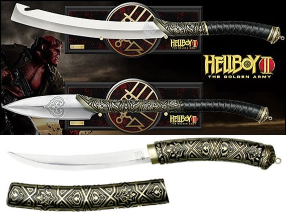 Hellboy 2 The Golden Army Prince Nuada Sword Spear And