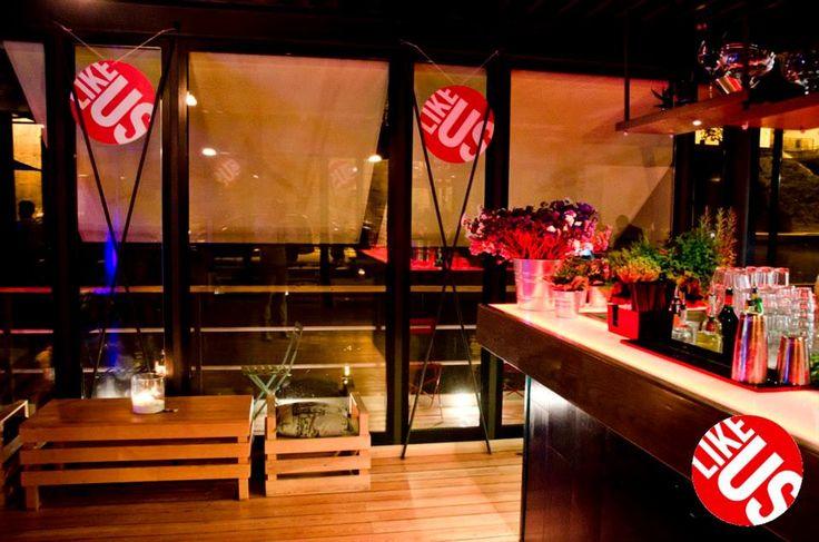Bar #likeus_party! #Roma #Tevere